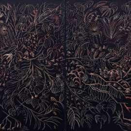 46. CHARLES BLACKMAN Midnight Garden 1993 image