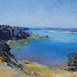 55. PENLEIGH BOYD Sydney Harbour1922 image