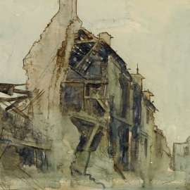 Lot 80. ARTHUR STREETON Ruins, Peronne image