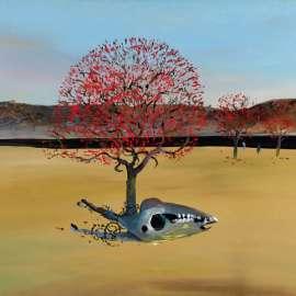 16. ARTHUR BOYD  Flame Trees, Horse's Skull, Black River 1983 image