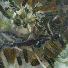 59. WILLIAM ROBINSON Rainforest with Botan Creek1989 image