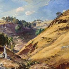 HANS HEYSEN The Hillside, Glen Osmond Image