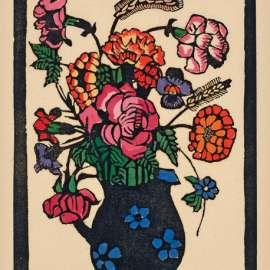 1. MARGARET PRESTON Flowers in Jug image